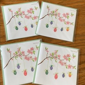 PAPYRUS EASTER CARDS- set of 4